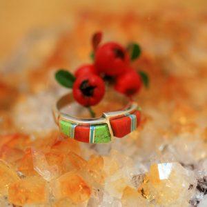 Zuni ring by Duran Gasper