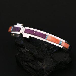 Duran Gasper Zuni inlay bracelet