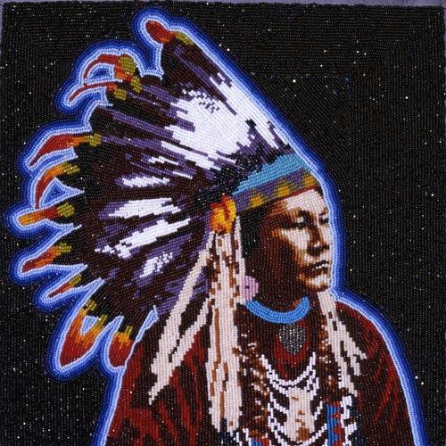MARCUS AMERMAN artist native american indian