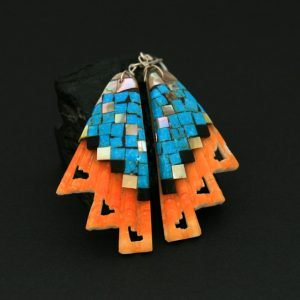 Warren Nieto mosaic earrings