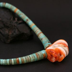 Corn necklace by Beatrice Aguilar