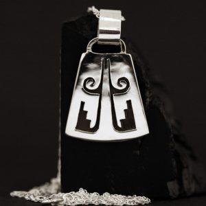 Hopi pendant by Anthony Honahnie