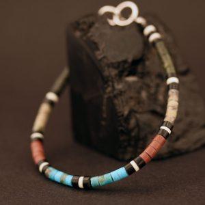 Heishi bracelet by Harvey & Janie Chavez