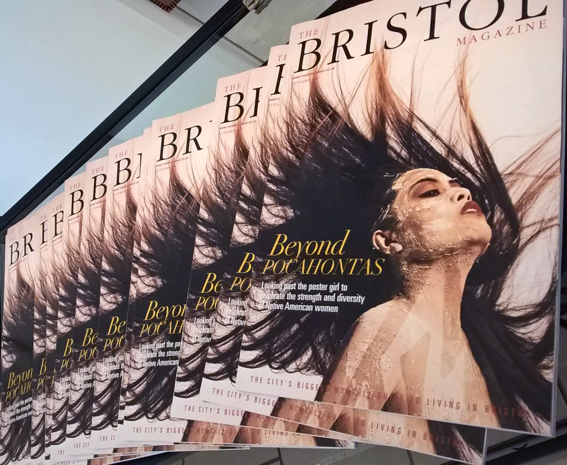 We Are Native Women - The Bristol Magazine cover story April 2017