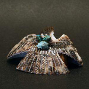 Eagle fetish by Bryston Bowannie