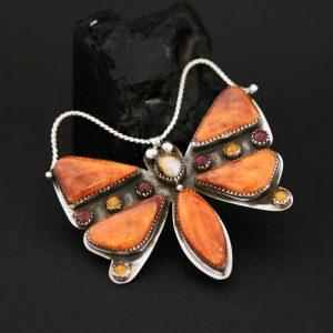 Butterfly pin by Joshua Concha