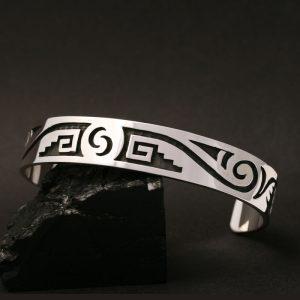 Hopi bracelet by Anthony Honahnie