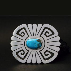 Hopi buckle by Anthony Honahnie