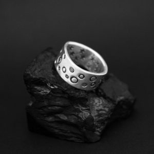Man's silver band by Cody Sanderson