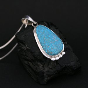 Turquoise pendant by Duran Gasper