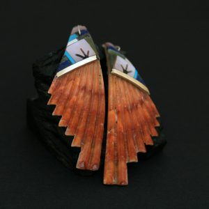Shell earrings by Kayleen Chavez