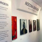 Nocona Burgess solo exhibition at Rainmaker Gallery in Bristol