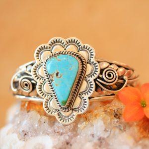 Navajo bracelet by Rodger Montoya