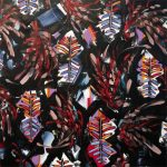 'Tall Grass Prairie' oil on canvas by Yatika Fields