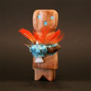 Zuni altar maiden fetish by Marvelita Phillips