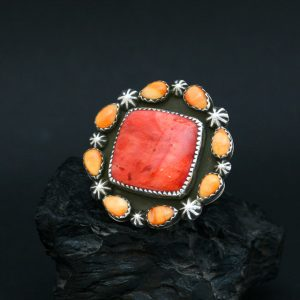 Statement ring by Joshua Concha