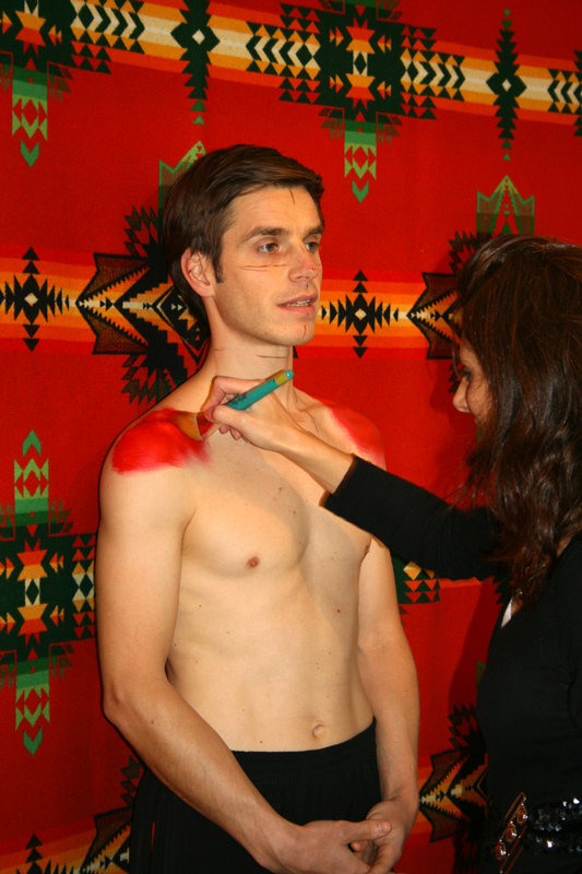 Pendleton Live Body Painting Event