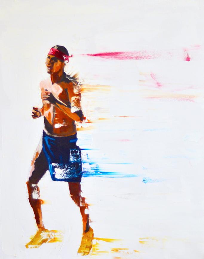 Runner by Del Curfman