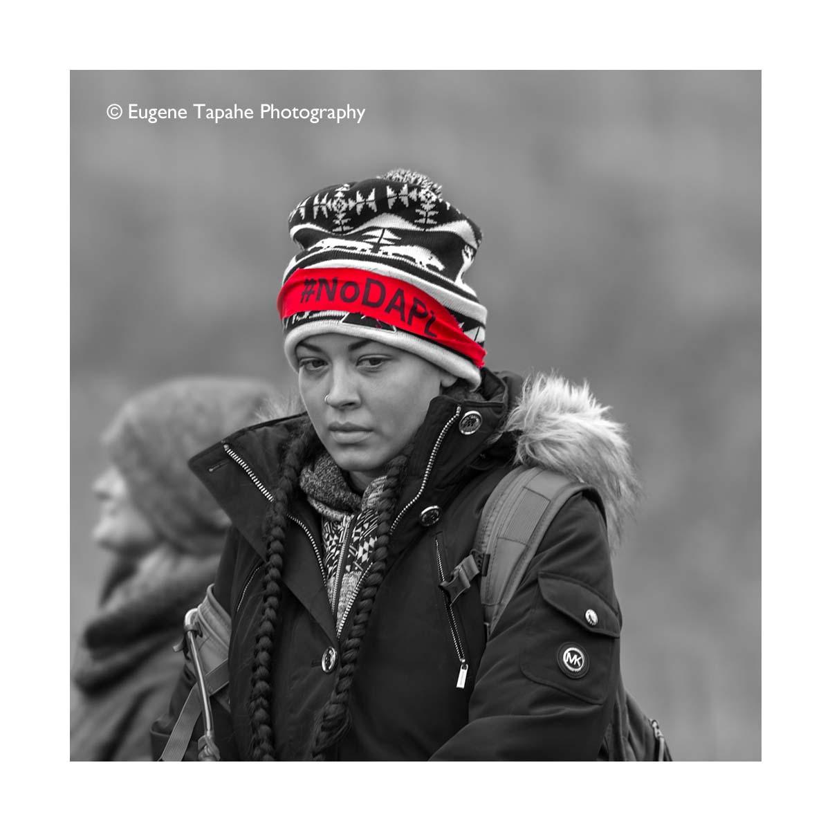 #NoDAPL photograph ©Eugene Tapahe