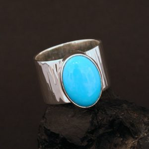 Turquoise ring by Jennifer Medina