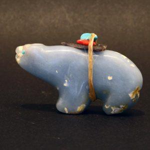 Angelite bear by Jimmy Yawakia