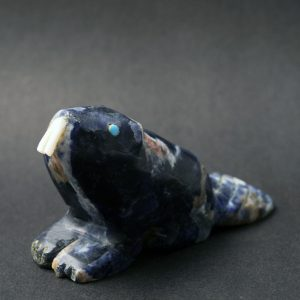 Blue beaver by Jimmy Yawakia