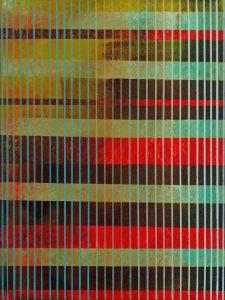 Gradient Pinstripe by B L Hensley (Chickasaw)