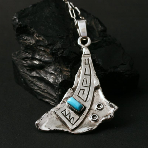 Sterling Silver Pendant by Anthony Honahnie
