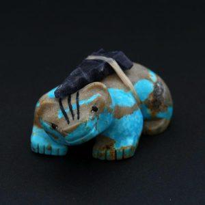 Turquoise Turquoise Badger (Donashi) by Douglas Martza