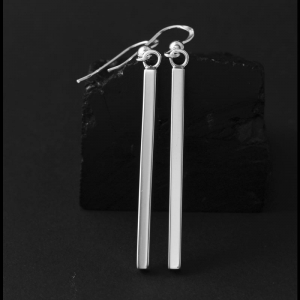 Sterling Silver Earrings by Jennifer Medina