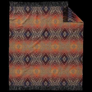Sunset Cross fringed throw, Pendleton