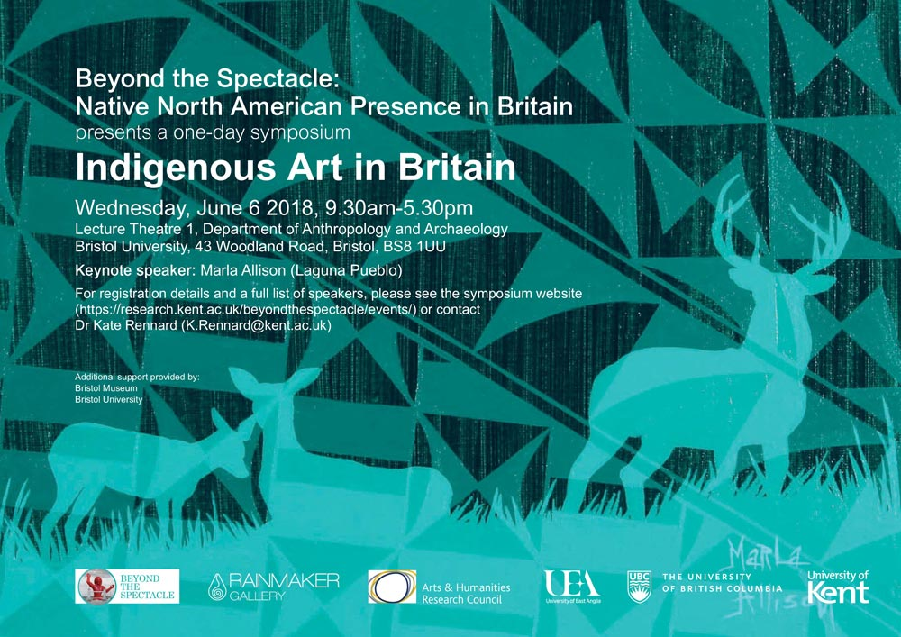 Indigenous Art in Britain symposium