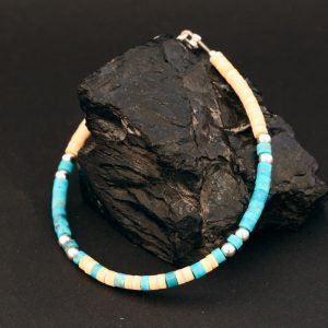 Heishi bracelet by Harvey & Janie Chavez
