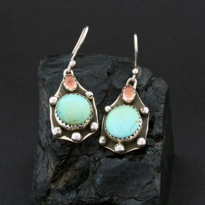 Turtle Earrings by Annalisa Martinez, Taos Pueblo