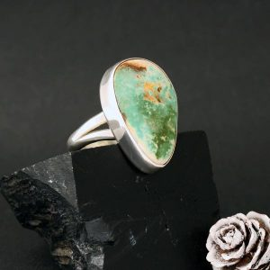 Turquoise Mountain Ring by H & J Chavez
