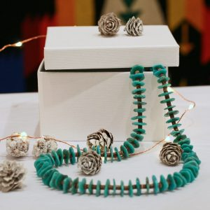 Turquoise Necklace by Harvey & Janie Chavez