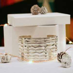 Man's cuff bracelet by Chris Pruitt