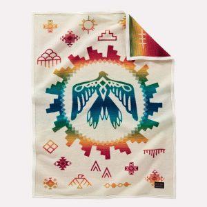 Sunrise Eagle muchacho baby blanket by Pendleton Woollen Mills