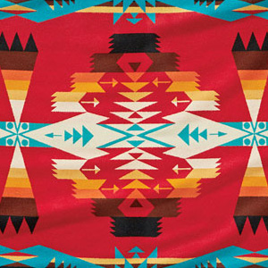 Pendleton Saddle Blanket, Tucson red