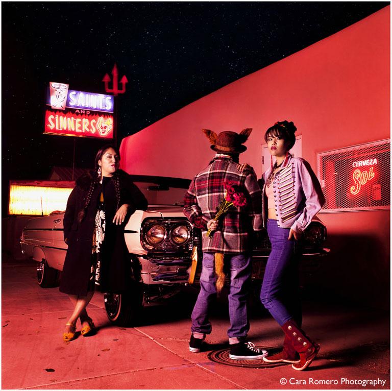 Coyote Tales No.1 by Cara Romero