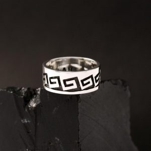 Hopi ring size 5.5 by Anthony Honahnie