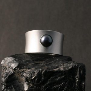 Black Pearl Ring by Pat Pruitt
