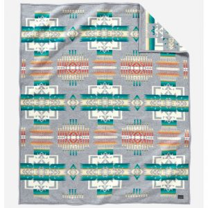 Chief Joseph Robe, Grey, Pendleton Blanket