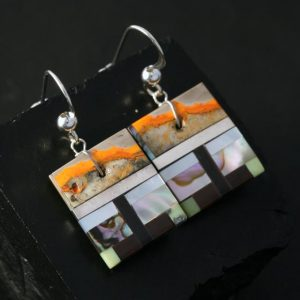 Square Earrings by Tanner & Stephanie Medina