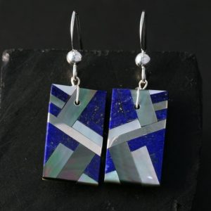 Lapis Lazuli Earrings by Stephanie Medina