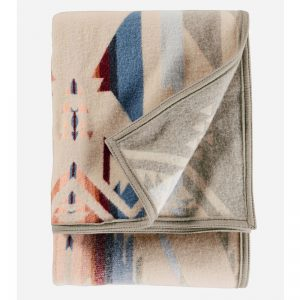 White Sands throw, Pendleton blanket