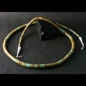 Kingman Necklace by Harvey & Janie Chavez