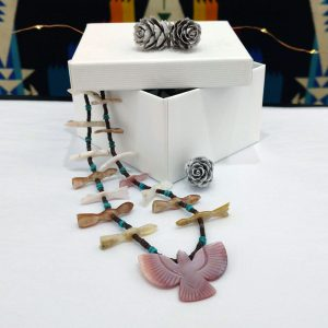 Zuni Bird fetish necklace