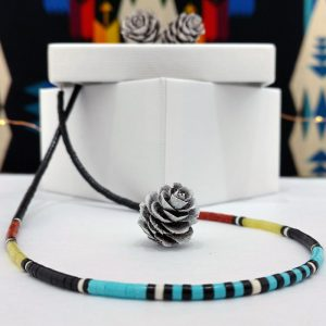 Kewa Heishi Necklace by Harvey & Janie Chavez