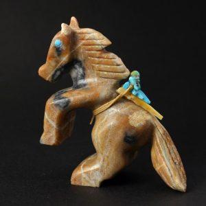 Rearing Horse by Douglas Martza, Zuni
